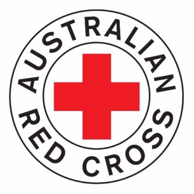 Australian Red Cross logo. A client of VTEvents workforce management software