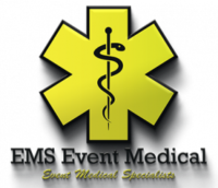 EMS Event Medical logo. A client of VTEvents workforce management software