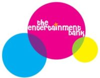 The Entertainment bank logo. A client of VTEvents workforce management software