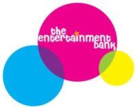 The Entertainment bank logo. A client of VTEvents workforce management software